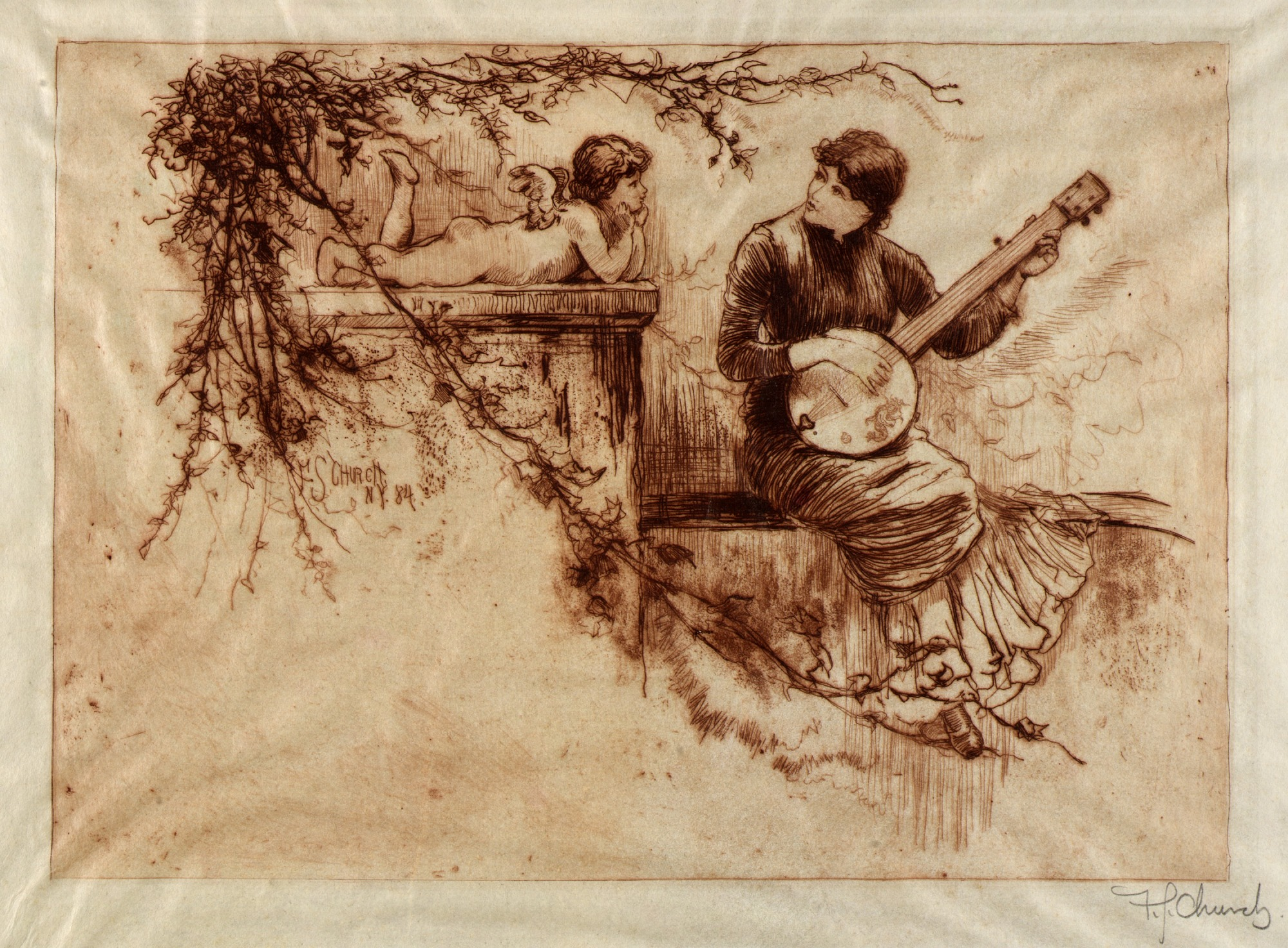 Image for A Symphony, Nineteenth Century
