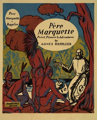 Jacket design for Pere Marquette