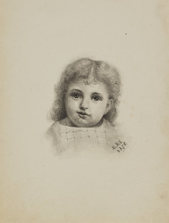 Untitled (Head of a Child)