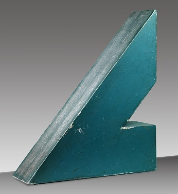 Untitled (Participatory Sculpture--Triangle #2)