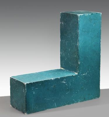 Untitled (Participatory Sculpture--L Shape)