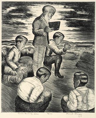 Grove Meeting--Men