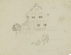 (House with Two Figures)