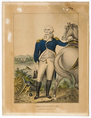 Washington (Standing by His Horse)