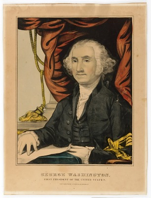 George Washington, First President of the U.S.