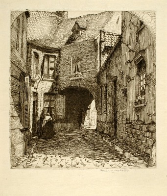 Old Butter Market, Bruges