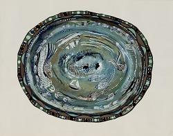Deep Sea (design for Oval Platter)