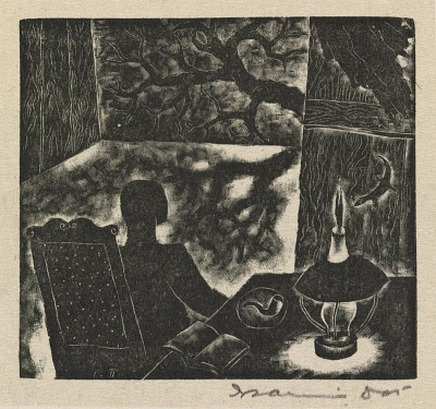 (The Wayward Muse, portfolio) From the Book of Verse by the Smoking Lamp, I Turn to Watch the Phantom Shadows