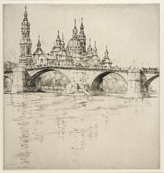 Bridge at Zaragoza, Spain