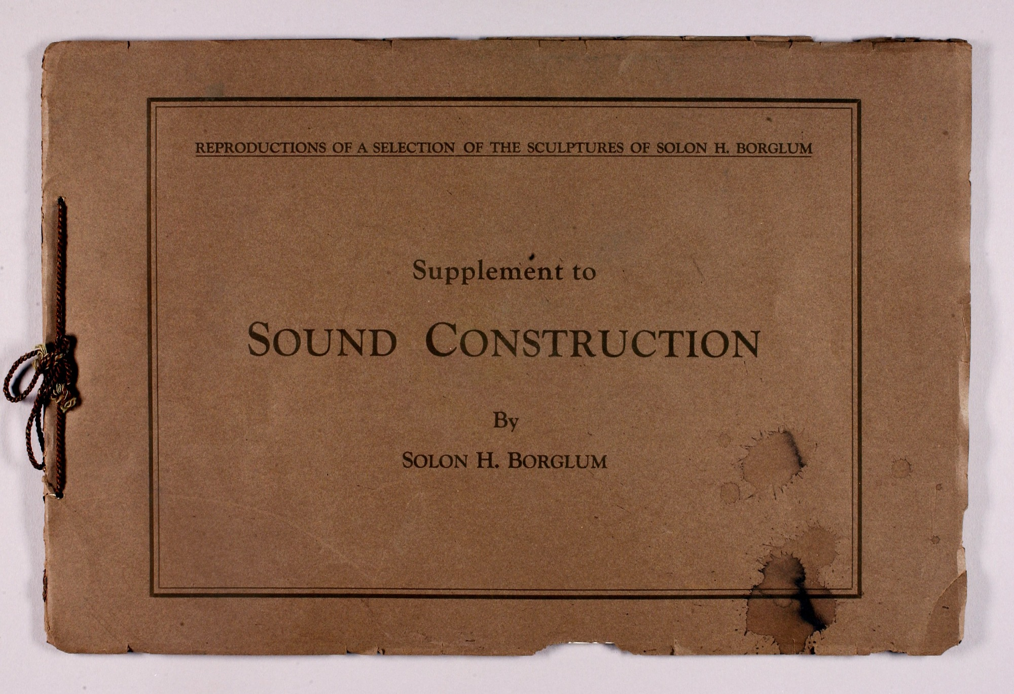 Supplement to Sound Construction