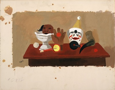 Still Life with Masks