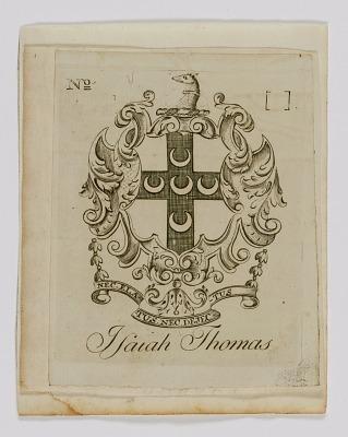 Isaiah Thomas Bookplate