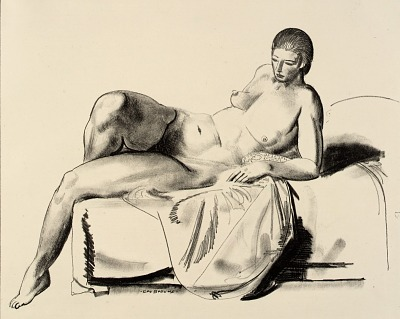 Nude Study, Classic on a Couch