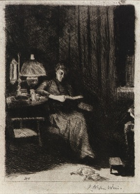 The Evening Lamp