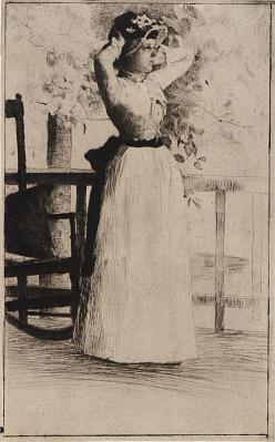 Portrait of Miss Hoe