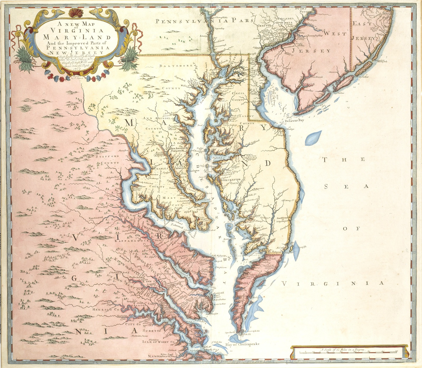 Resources A New Map Of Virginia And Maryland And The Improved