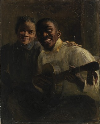 Two Negro Musicians