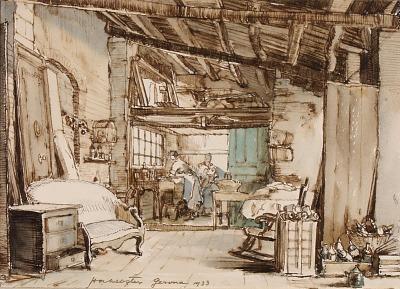 The Washerwomen in the Garret, Gerona