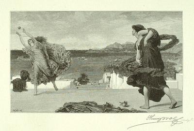 Greek Girls Playing Ball