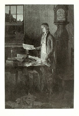 Thomas Jefferson, Writing the Declaration of Independence