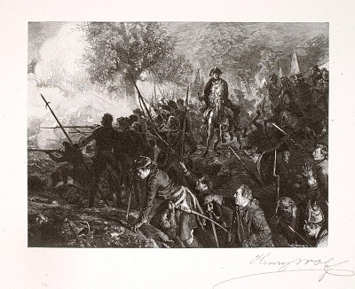 Frederick and His Men at Hochkirch