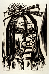 (American Indians, portfolio) Cree