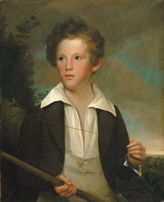 Boy with a Fishing Pole