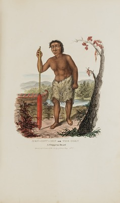 MEN-DOW-MIN or The Corn; A Chippewa Dwarf, from The Aboriginal Portfolio
