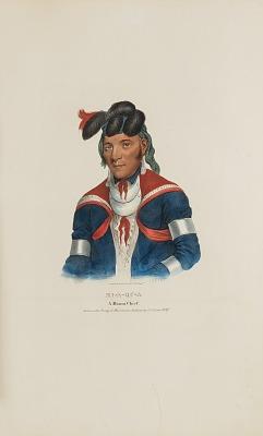 MI-A-QU-A; A Miami Chief, from The Aboriginal Portfolio