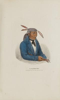 A Young Miami Chief, from The Aboriginal Portfolio