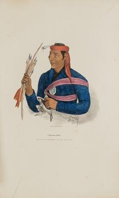 A Miami Chief, from The Aboriginal Portfolio