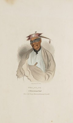 CHA-CO-TO, A Pottowattomie Chief, from The Aboriginal Portfolio