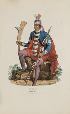 RICHARDVILLE; A Miami Chief, from The Aboriginal Portfolio