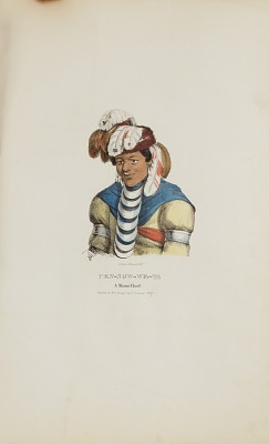 PEN-NOW-WE-TA; A Miami Chief, from The Aboriginal Portfolio