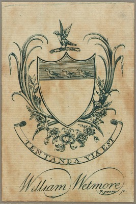 William Wetmore Bookplate