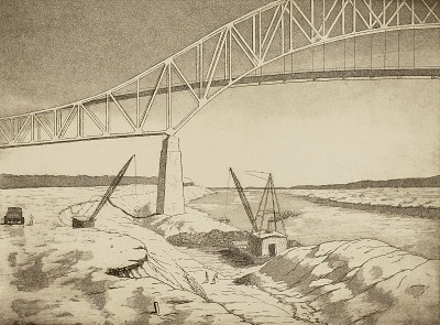 Excavation, Cape Canal