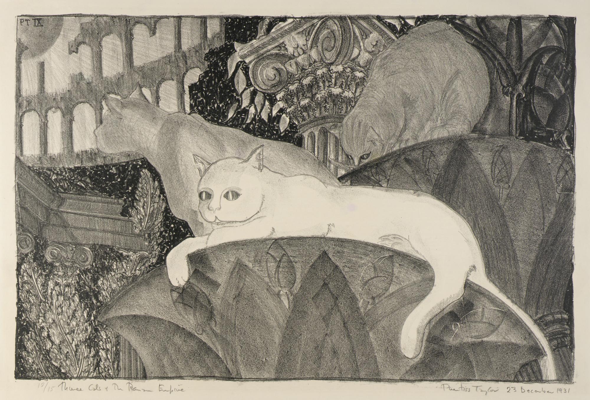 Three Cats and the Roman Empire
