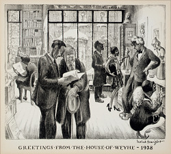 Greetings from the House of Weyhe--1928