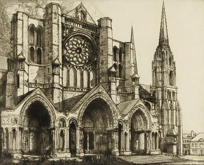 Chartres, North Portal