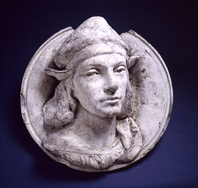 Model for Colossal Head of Raphael