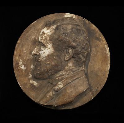 Portrait of a Man {Albert Pinkham Ryder?}