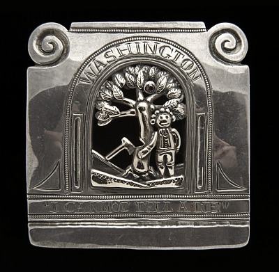 George Washington Belt Buckle