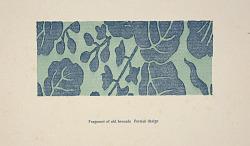 Ipswich Prints: Fragment of old brocade, Persian design