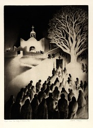 Night Mass--Our Lady of Delores, Taos