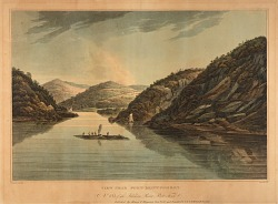 View near Fort Montgomery (no. 18, Hudson River portfolio)