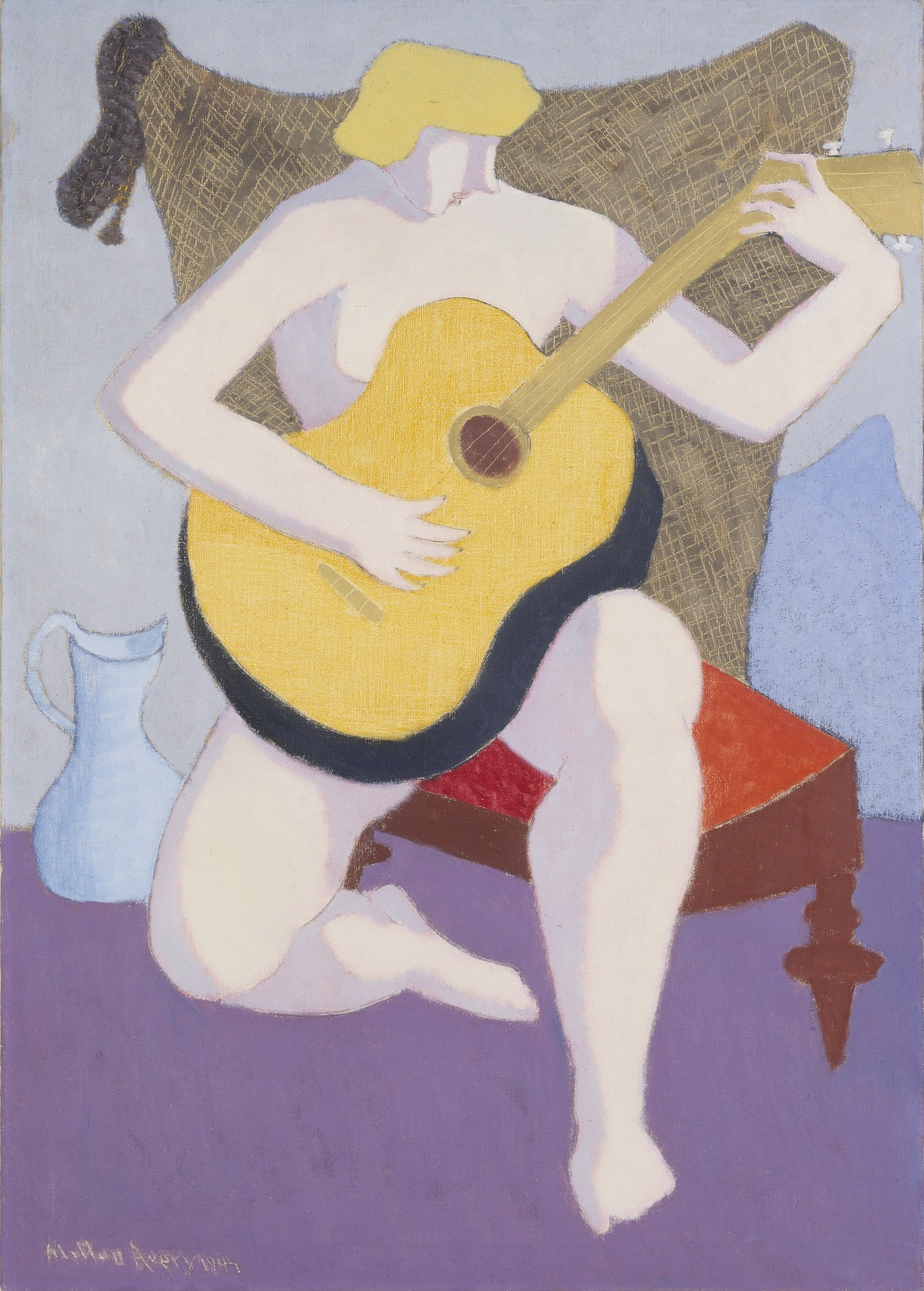images for Nude with Guitar