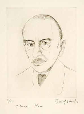 (Four Portraits, portfolio) Thomas Mann