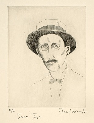 (Four Portraits, portfolio) James Joyce