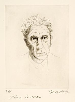 (Four Portraits, portfolio) Alberto Giacometti