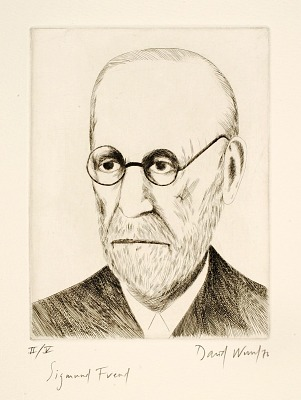 (Four Portraits, portfolio) Sigmund Freud